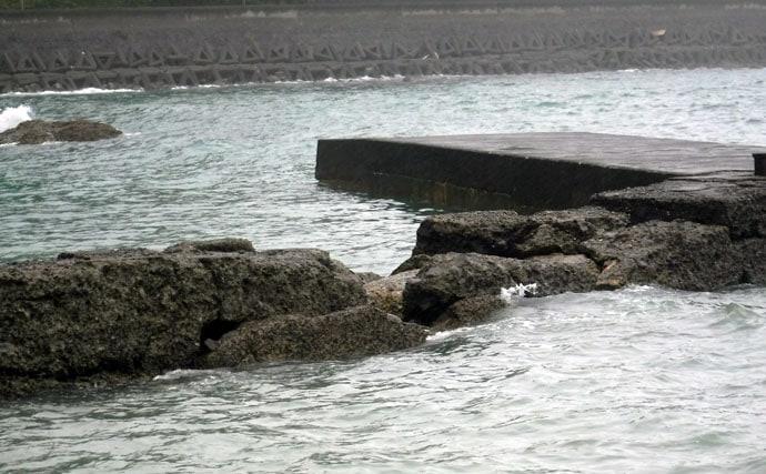 房総アジング好釣り場:天面港 良型が狙える穴場中の穴場
