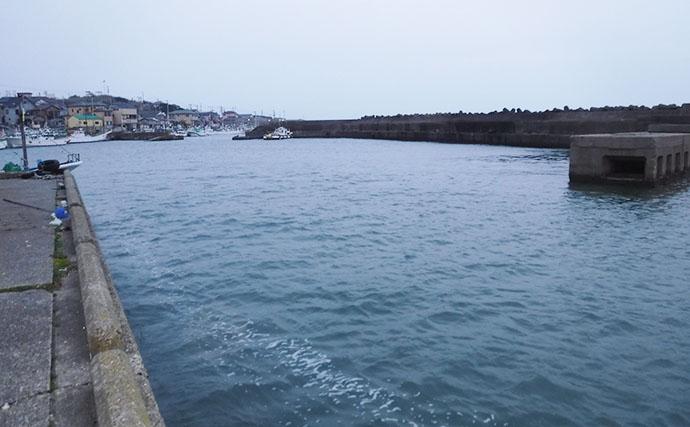 房総アジング好釣り場:外川漁港 夏場でもアジの適水温をキープ