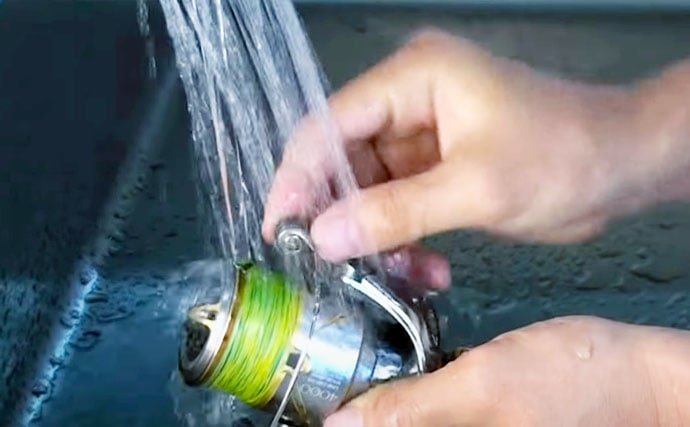 釣行後の『スピニングリール』メンテナンス術 洗浄&注油&グリスアップ