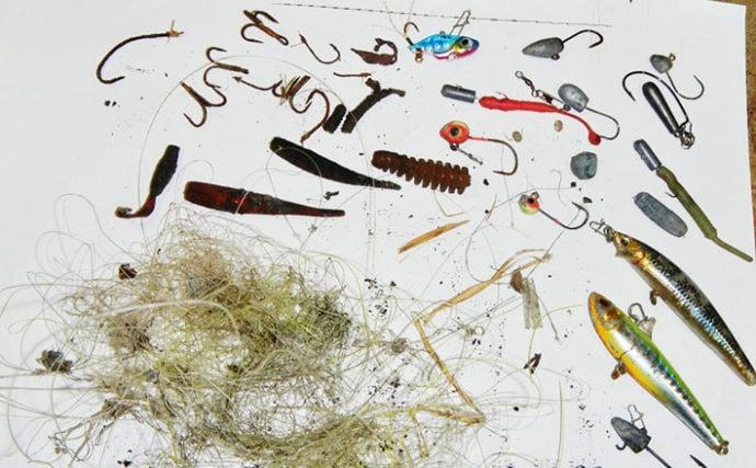 海洋生物の生命を奪う『ゴーストフィッシング』 根掛かりが主な原因か