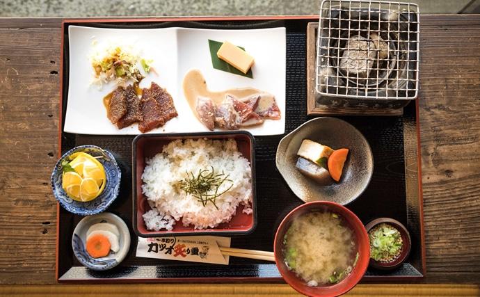 魚介で地域活性化:宮崎県日南市の『カツオ炙り重』 実は水揚げ日本一