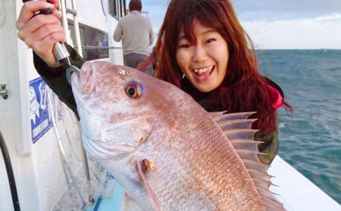 あなたのタックルボックス見せてください:テンヤマダイ好き女性釣り師