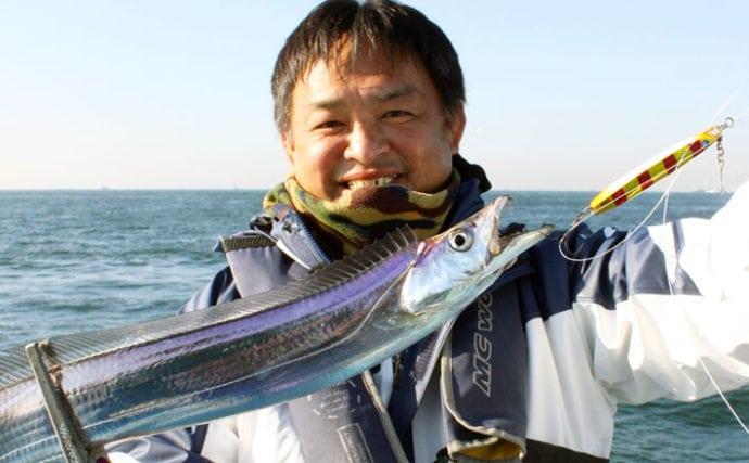 【東京湾2020初夏】沖のルアータチウオ攻略法 現役の担当船長が解説