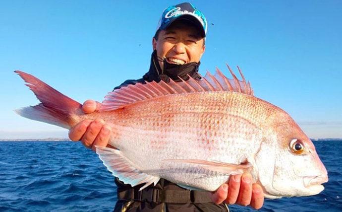 コマセマダイ釣りで主流になりつつある『テーパー仕掛け』を考察