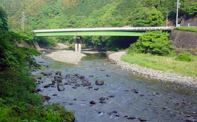 漁協 興 津川