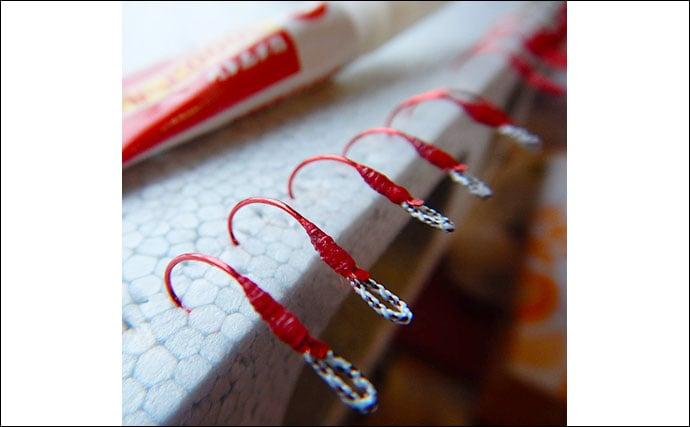 自分好みの釣具を作成しよう:スイミングフック 材料・道具・手順
