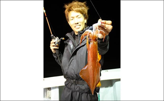 三国沖イカメタルが開幕 大型マイカを狙う【福井・シーライオン】