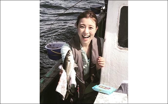 私の釣り人生コラム:杉田千紘 「とにかく美味しい魚が食べたい!」