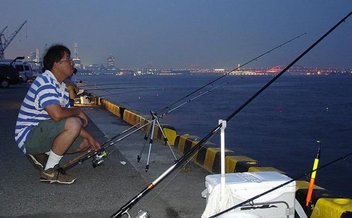 釣りのトラブル回避法:釣り竿を地面に置いてはいけない理由とは