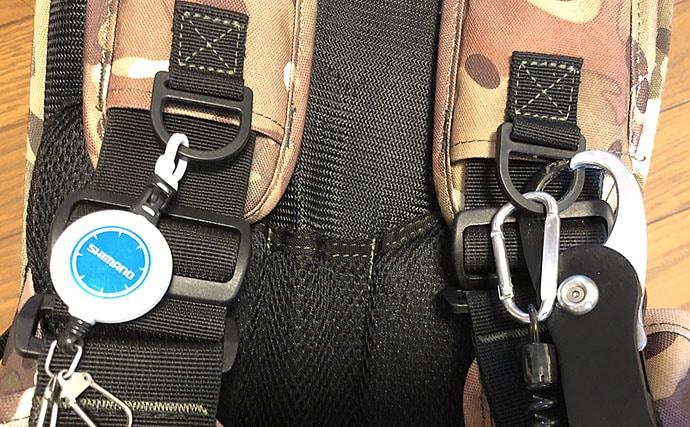 シーバスゲームでのライフジャケットを考察 「収納」面からもマスト