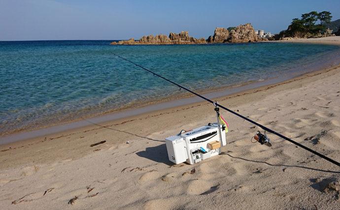 【2020夏】サーフでの投げキス釣り 機動力重視の釣行スタイル紹介