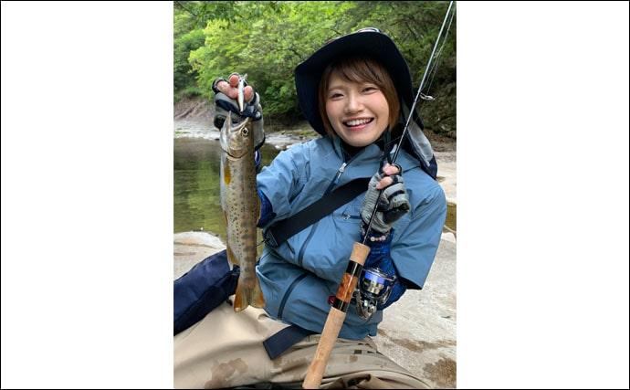 人生最高フィッシング:秋丸美帆 初の渓流釣りから学んだこととは?