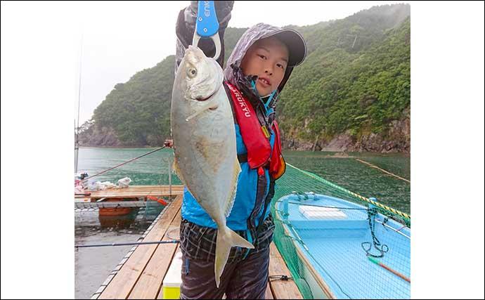 海上釣堀でイシダイを狙う 「虫エサ」が大当たり【三重・正徳丸】