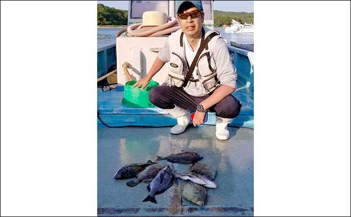 【三重】カカリ釣り最新釣果 71cm良型スズキに54cm年無しクロダイなど