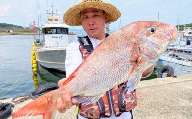 【愛知・三重】沖のルアーフィッシング最新釣果 良型マダイにマダコなど