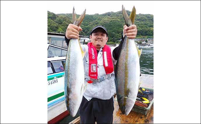 【三重・福井】海上釣堀最新釣果 良型『天然ブリ』にマダイが好調