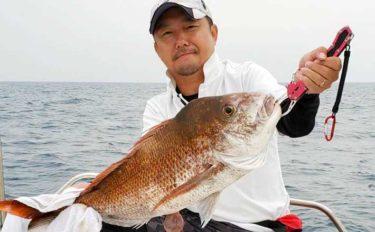 【福岡・長崎】沖のルアーフィッシング最新釣果 マダイにイサキが好調