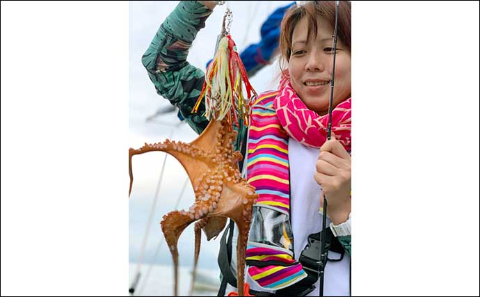 【大分・熊本】船釣り最新釣果 旬のジャンボイサキに大アジにマダコ他
