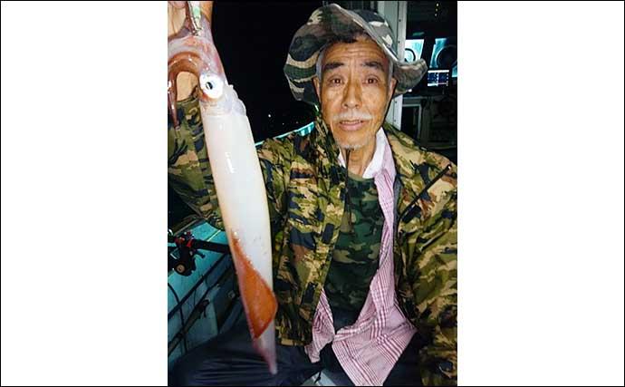 【福岡】夜焚きイカ釣り最新釣果 釣る人100尾超えの好機到来中