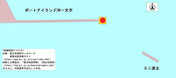 サビキ釣りで望外の中アジ10匹に満足【ポートアイランド沖一文字】