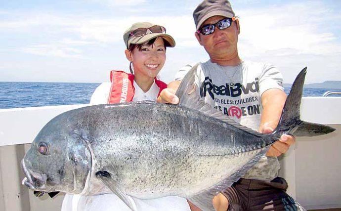 人生最高フィッシング:阪本智子 子供のお食い初めマダイは自分で釣る