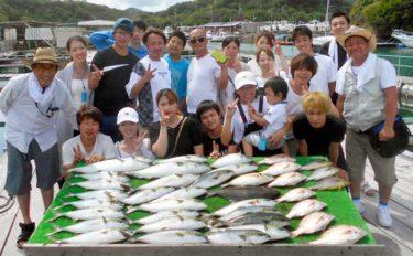 【三重・愛知】海上釣堀最新釣果 グループで大漁釣果を楽しめる好機