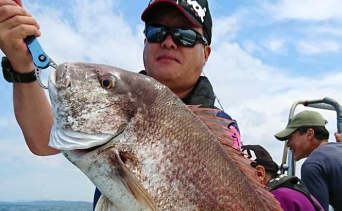 【福岡】沖のルアーフィッシング最新釣果 タイラバで80cm超マダイ浮上