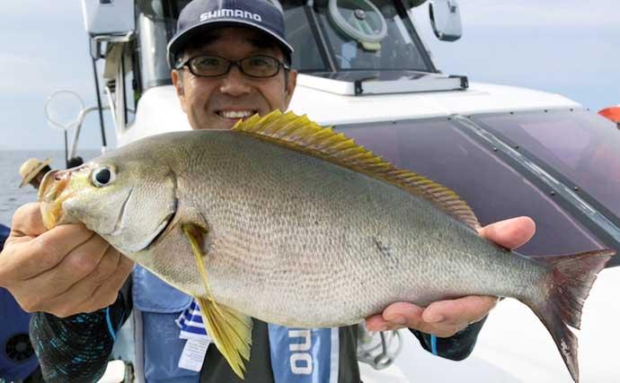 【大分・熊本】船釣り最新釣果 190cm60kg巨大カンパチ浮上