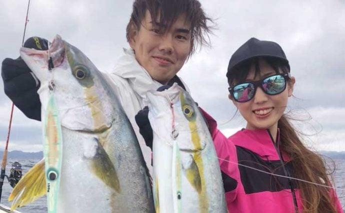 【長崎・佐賀】沖釣り最新釣果 ジギングで夏マサシーズン到来の予感