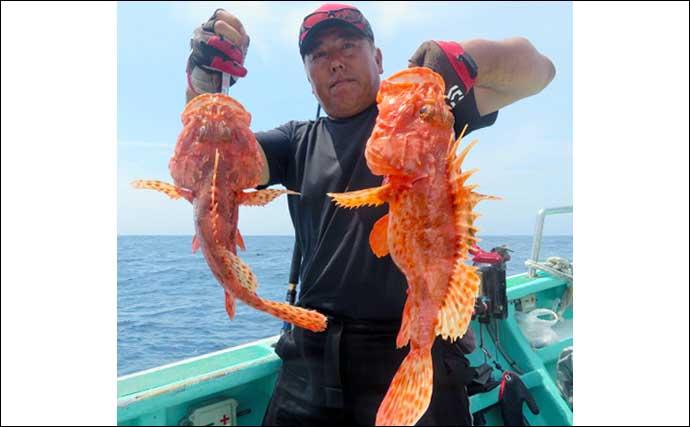 【愛知・三重】沖のエサ釣り最新釣果 65cm頭にイシダイ6尾など