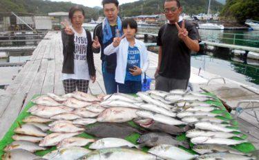 【愛知・三重】海上釣り堀最新釣果 マダイ&青物の数釣りにシマアジも