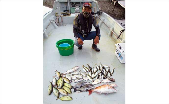 【三重】イカダ&カセ最新釣果 クロダイ47cm頭に13匹と数釣り好機