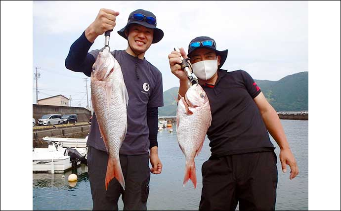 【三重・福井】船釣り最新釣果 ジギング&タイラバで良型マダイ浮上