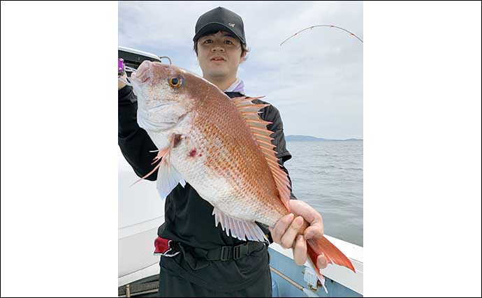 【大分・熊本】船釣り最新釣果 腹パン『ジャンボイサキ』が絶好調