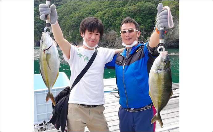 【三重】海上釣り堀最新釣果 高級魚の「シマアジ」を狙いに行こう