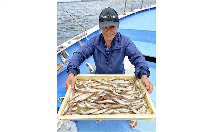 【愛知】沖のエサ釣り最新釣果 55cm頭にイシダイ船中27匹の数釣り達成