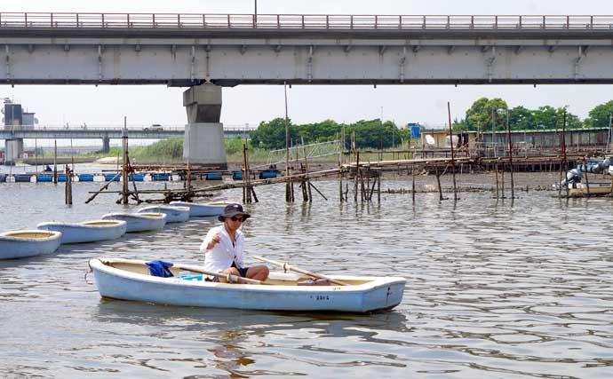 「ボートハゼ釣り」のススメ 手軽に沖釣り気分を堪能【江戸川放水路】