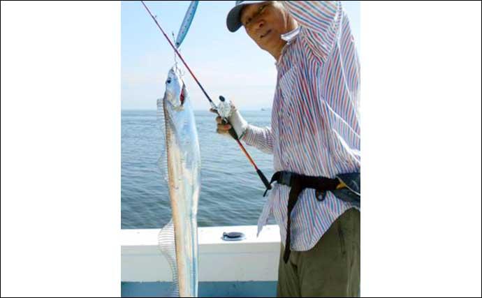 【大分・熊本】船釣り最新釣果 腹パン「ジャンボイサキ」が絶好調
