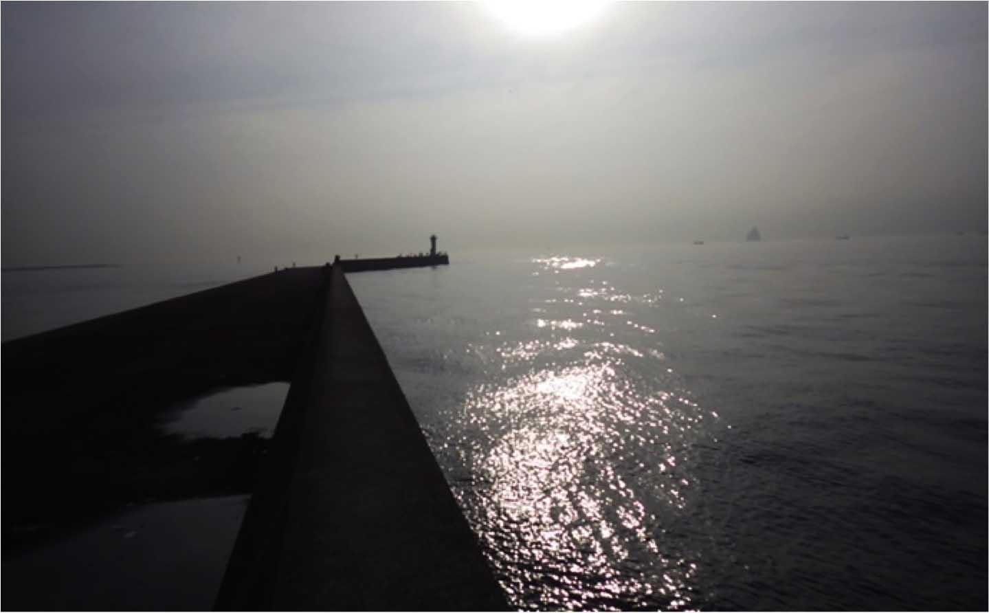 全長3km超の沖堤防でエギタコ釣り 水潮に苦戦し2杯【川崎新堤防】