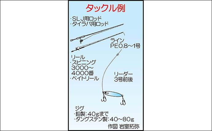 『SLJ』で40cm超え良型イサキに50cm級マダイ連発【エル・クルーズ】