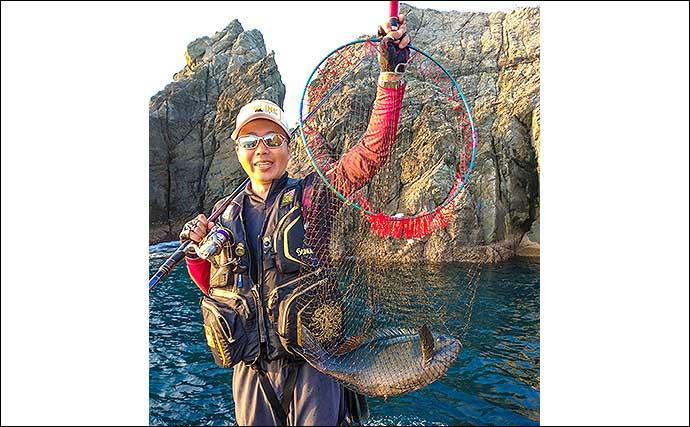 磯フカセ釣りで梅雨グレ攻略 54cm『尾長』堂々浮上【上五島・白瀬】