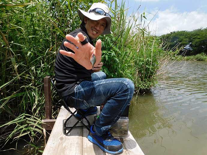 淡水小物釣りでタナゴ&クチボソ合計52尾キャッチ【埼玉・びん沼川】
