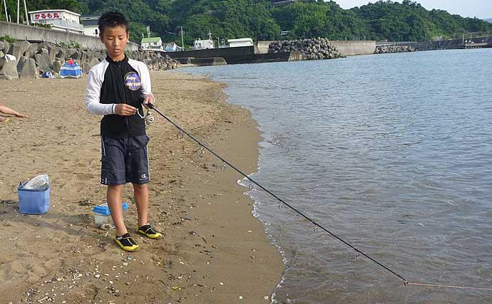 海水浴場でシロギスがよく釣れる3つの理由 濁りとブレイクラインがカギ