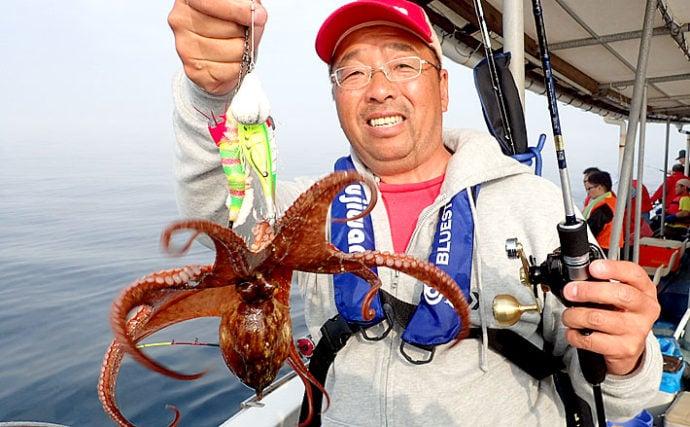 初めての釣りは「船釣り」で決まり:入門には夏のマダコ釣りが最適