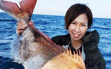 【福井】沖釣り最新釣果 タイラバで85cmモンスター級マダイ浮上