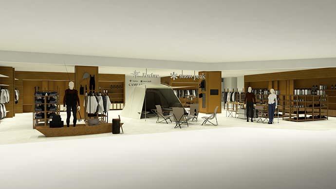 スノーピークとティムコがコラボ店舗を今秋オープン 共同開発商品販売も