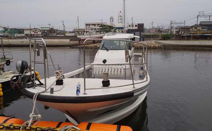 明石の船マダコ活況で30匹手中 意外なゲストにハモ?【兵庫・浜栄丸】