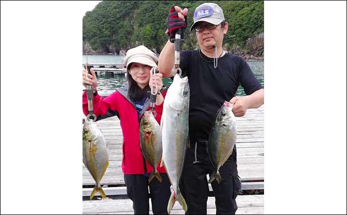 【三重・愛知】海上釣り堀最新釣果 マダイ2ケタ釣果に青物も顔見せ