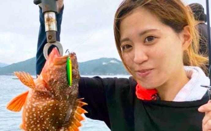 【愛知・三重】沖のルアーフィッシング最新釣果 ジギングで根魚に青物好調