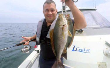 沖の欲張りルアー釣行 ジギングにSLJにイカメタル【エル・クルーズ】